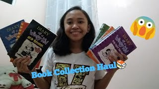 Book Collection Haul(Diary of a Wimpy Kid)| Clairese Garcia