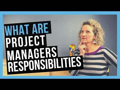 Project Manager Responsibilities [THE ROLE OF THE PROJECT MANAGER]