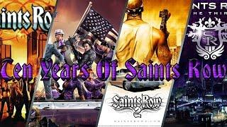 Saints Row 10 Year Anniversary!