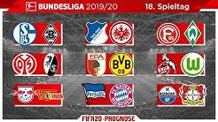 FIFA 20: Spieltag 18 (inkl. Samstagskonferenz) Saison 19/20 Bundesliga Prognose l Deutsch [FULL HD]