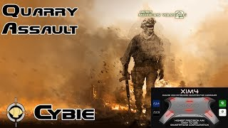XIM 4 Modern Warfare 2 Xbox 360 Gameplay: UMP45 Quarry Assault