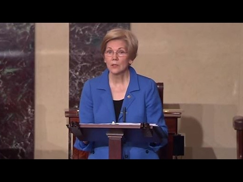 Elizabeth Warren Told To Sit Down