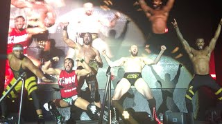 Drew McIntyre, Johnny Gargano, Oney Lorcan and The Street Profits channel the Kliq at NXT Live