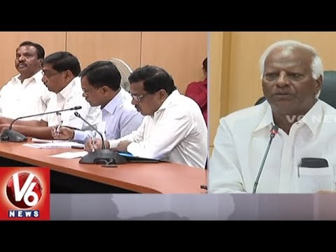 Dy CM Kadiyam Srihari Holds Review Meet With Education ...