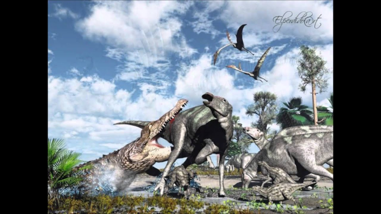 T-rex,Spinosaurus,deinosuchus tribute - YouTube