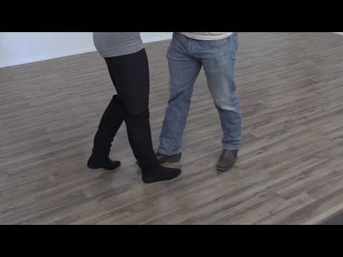 How to Country Two Step  - 2 Step Footwork