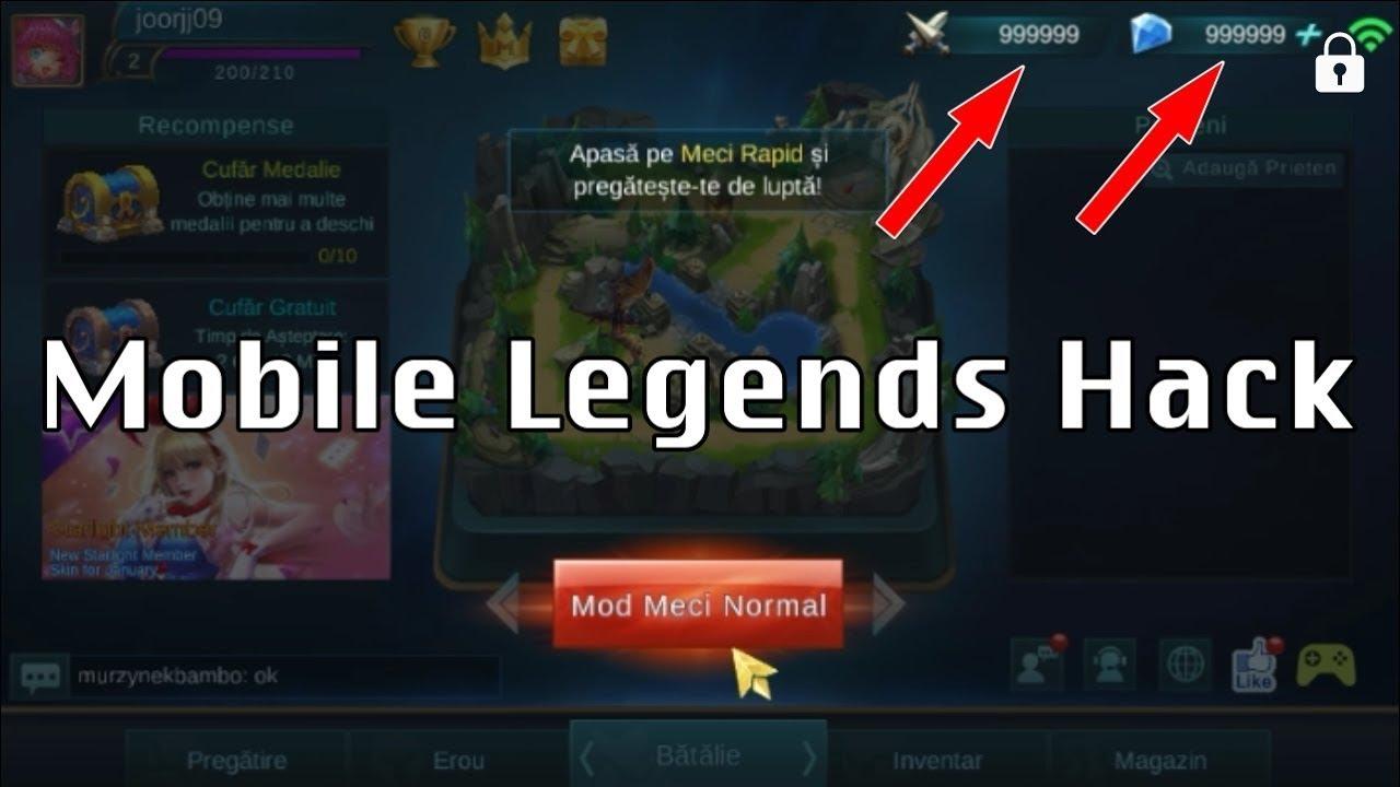 hack mobile legend new method free diamond update 2017