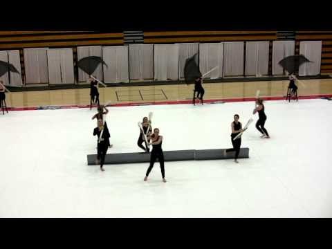 2013 Milton High School Winter Guard