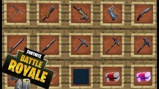 TODAS LAS ARMAS, POCIONES Y MAS DE FORTNITE BATTLE ROYALE EN MINECRAFT | Fortnite Mod 1.12.2
