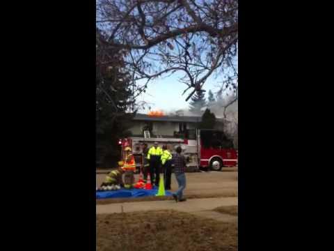 House Fire in Westlock, Alberta