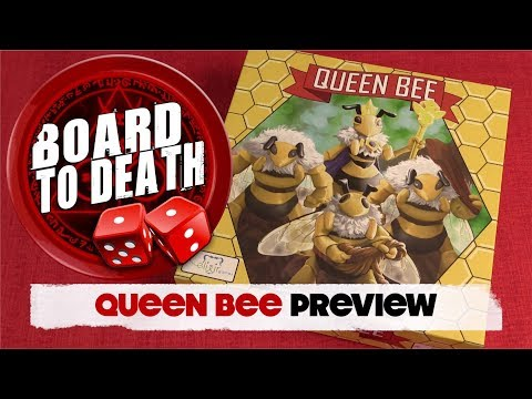 Queen Bee Board Game Preview
