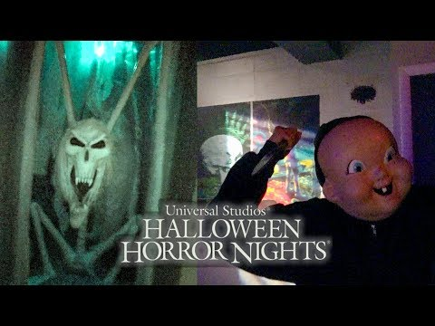 Halloween Horror Nights 2018 ALL 10 Mazes! Haunted House Walkthrough POVs Universal Studios Orlando