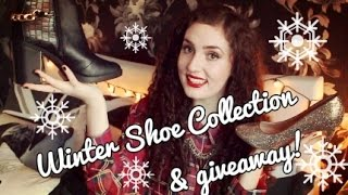 WINTER SHOE COLLECTION & GIVEAWAY! | Lily Kitten Thumbnail