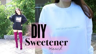 DIY Ariana Grande Sweetener Merch
