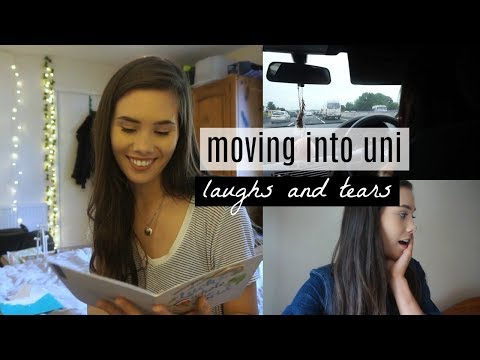 Moving into University VLOG 2017