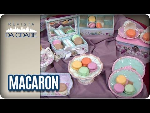 Receita de Macaron - Revista da Cidade (03/02/2017)