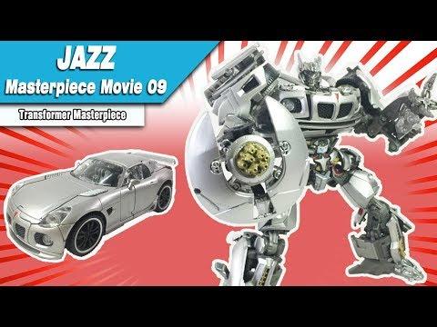 Transformer Masterpiece Movie 09   Autobot Jazz Review