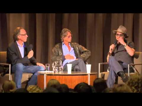 2011, Oct. 22 - University of Texas, Johnny Depp and Bruce Robinson (1/8)