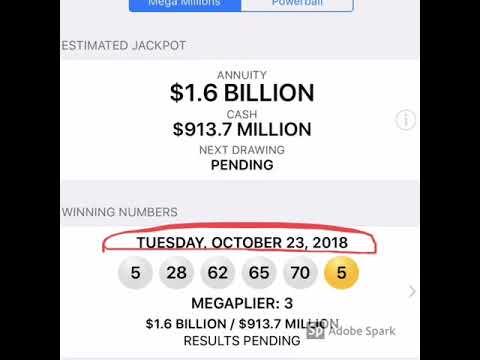 Mega millions numbers oct 7