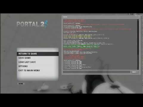 Portal 2: Developer Console Tutorial