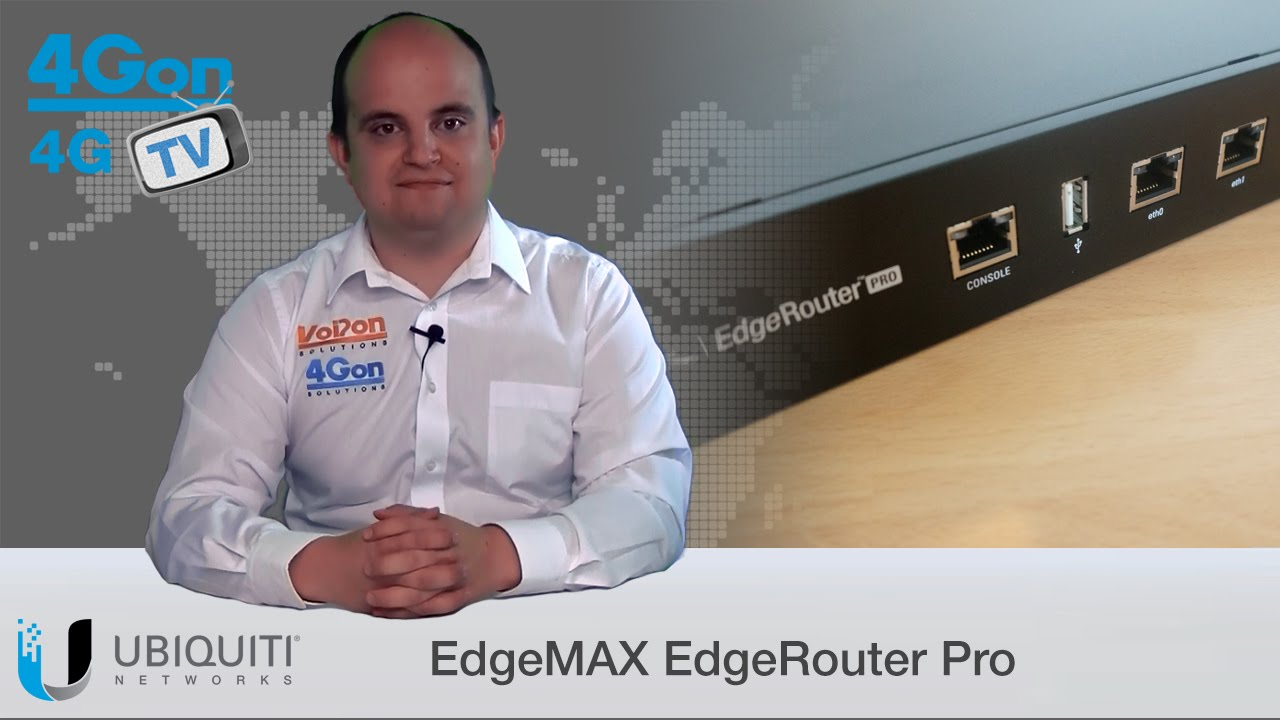 Ubiquiti EdgeMAX EdgeRouter Pro Video Review / Unboxing