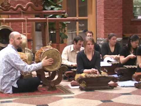 Cornell University Gamelan Ensemble Part 1