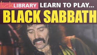 Sabbath Bloody Sabbath | Guitar Lesson