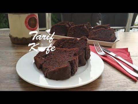 Toz Çikolata Soslu Kek