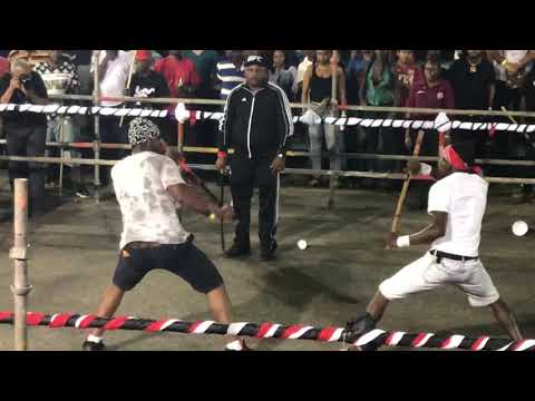 Trinidad Stick Fight 2019 ( semi final Mayaro)
