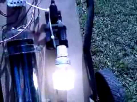 Solar Power converted to 110v (No Batteries)