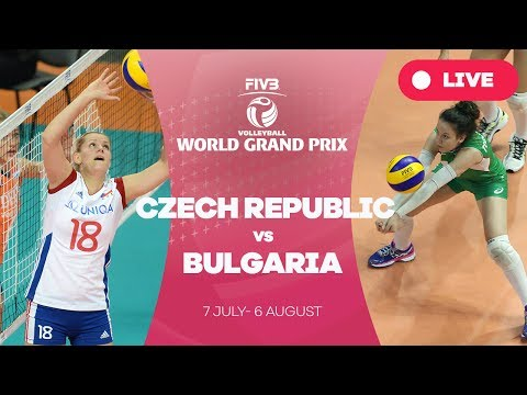 Czech Republic v Bulgaria - Group 2: - Group 2: 2017 FIVB Volleyball World Grand Prix
