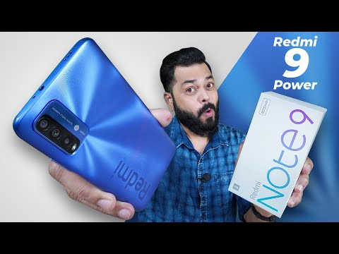 Redmi 9 Power..Oops Redmi Note 9 4G Unboxing & First Impressions ⚡ TOO Much Confusion