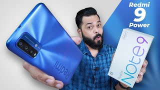 Redmi 9 Power..Oops😅 Redmi Note 9 4G Unboxing & First Impressions ⚡ TOO Much Confusion