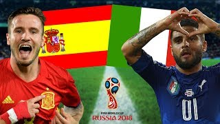 Spanien - Italien 02.09.17 WM 2018 Quali Orakel
