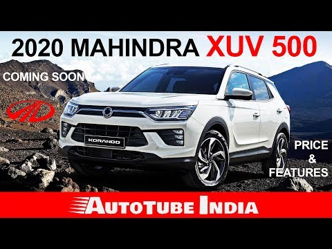 NEW MAHINDRA XUV 500 | LAUNCHING IN 2020 | PRICE & FEATURES | AUTOTUBE INDIA