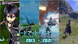"Evolution of ""Sword Art Online"" Game's [2013 - 2021]"