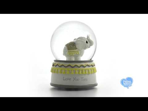 Love You Tons Elephant Musical Snow Globe, Resin/Glass