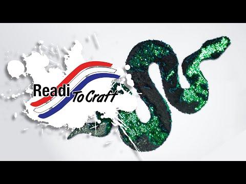 Readi to Craft: Sequin Snake