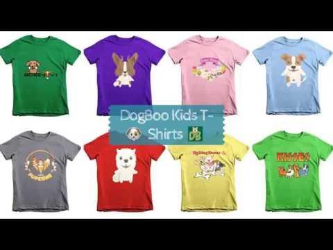 DogBoo Kids' Cute T-Shirts