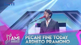 Ardhito Pramono Fine Today Ami Awards 23rd 2020