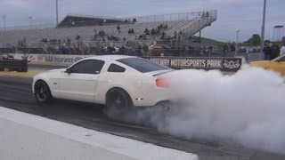 Supercharged 5.0 Mustang sounds like a jet!