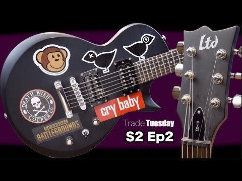 My First LTD Guitar | Trade Tuesday S2 E2 | ESP LTD EC-10 Review + Demo