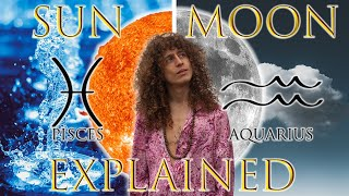 ☉ Sun in Pisces ☽ Moon in Aquarius