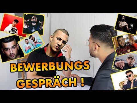 BEWERBUNGSGESPRÄCH - FARID BANG | CAPITAL | KC & SC | UFO361 | ZUNA | KAY ONE..