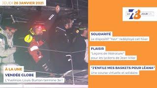7/8 Le journal. Edition du 28 janvier 2021
