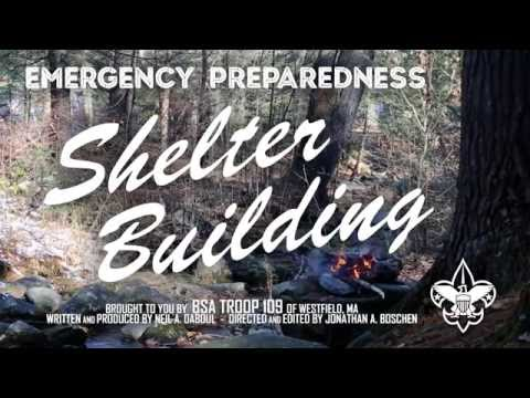 BSA Wilderness Survival: Shelter Building