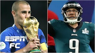 Gab Marcotti s favorite moment Italy win the World Cup or Eagles win the Super Bowl Extra Time
