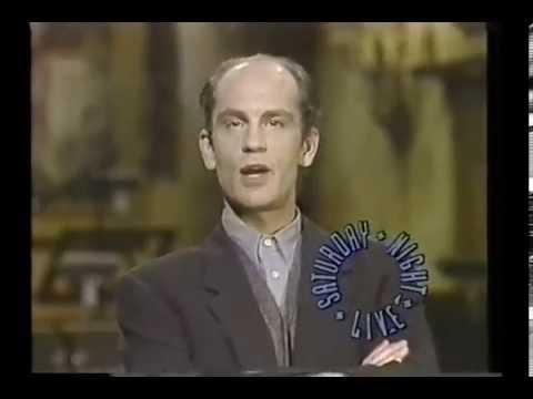 saturday night live john malkovich anita baker host promo jan 1989 - John Malkovich Snl Christmas