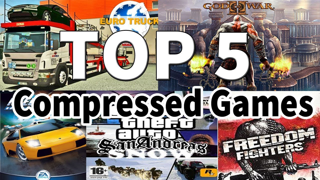 Top 5 Highly Compressed Pc Games Under 500mb Youtube