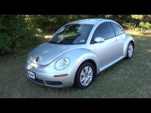 2008 Volkswagen New Beetle Startup, Tour & Test Drive